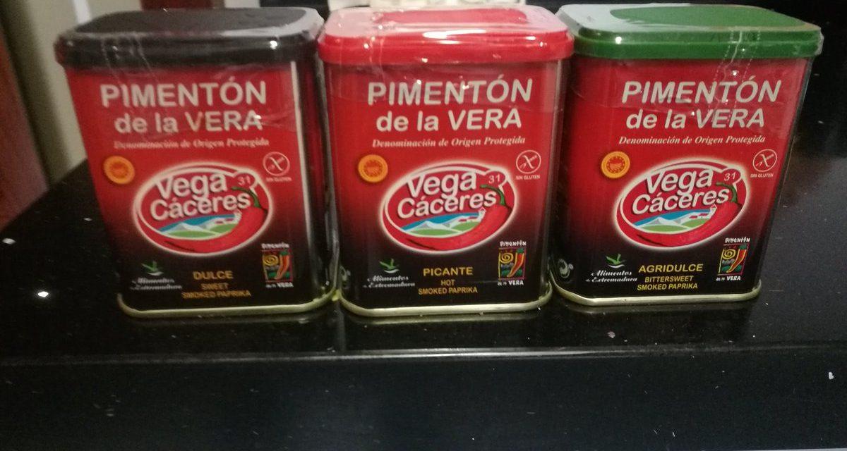 Sorteo Pack Pimentón de la Vera.