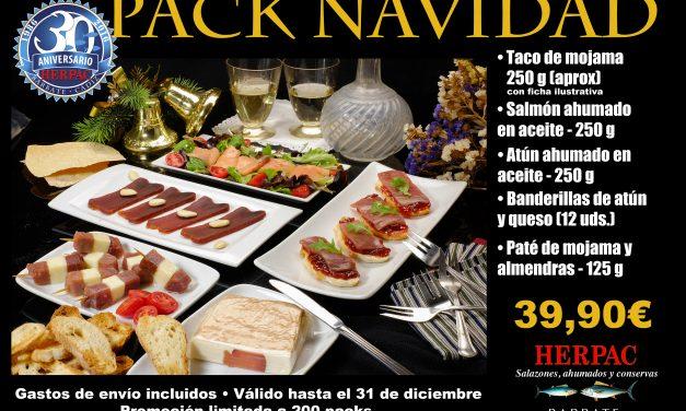 Herpac lleva la gastronomía barbateña a toda España esta Navidad