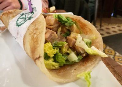Kebab de chicharrón de Cádiz