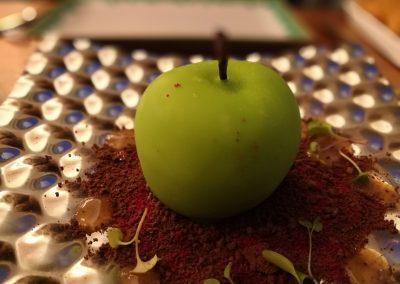 Manzana de paté